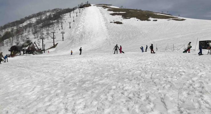 天神平スキー場もいよいよクローズへ。