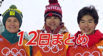 平昌オリンピック2月12日はメダルラッシュ